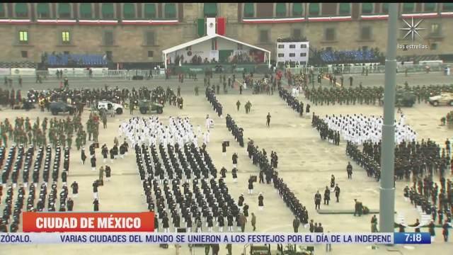 todo listo para el desfile militar del 16 de septiembre de
