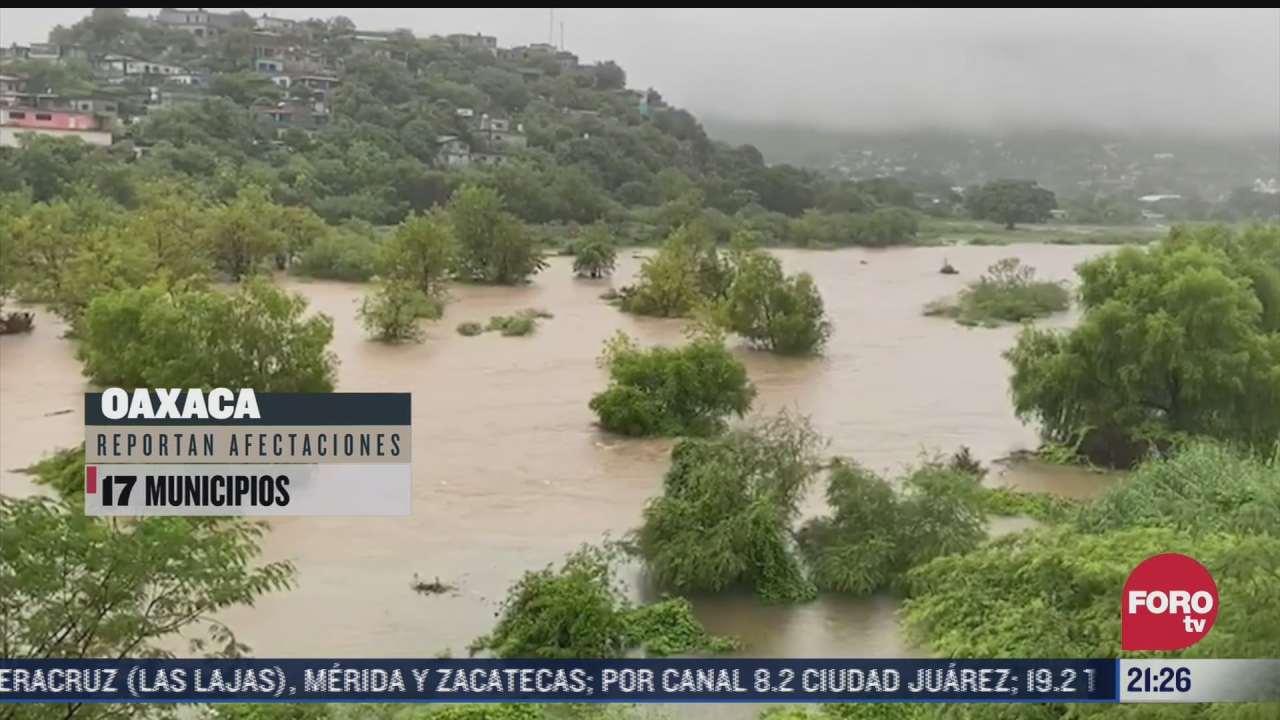 tormenta nicholas y zona de baja presion causan danos en varios estados de mexico