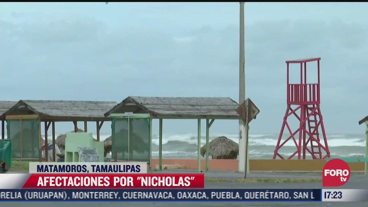 tormenta tropical nicholas dejo ligeros chubascos en matamoros tamaulipas