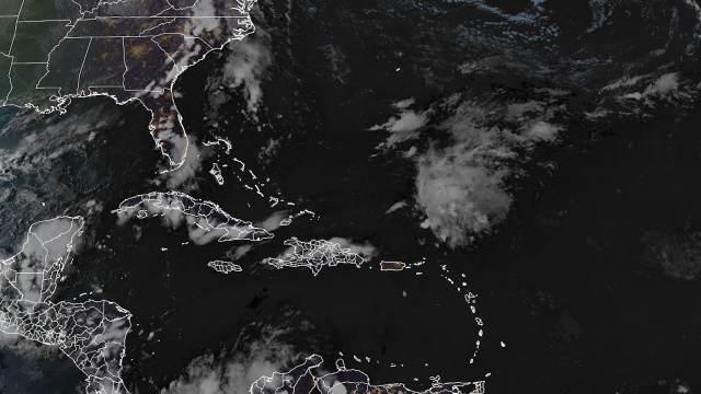 Localización de la 18 depresión tropical de la actual temporada ciclónica en el Atlántico (Rammb)