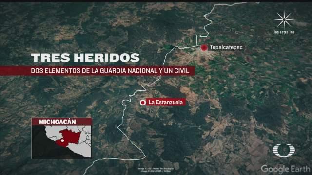 tres heridos por enfrentamientos en tepalcatepec michoacan acusan invasion del cjng