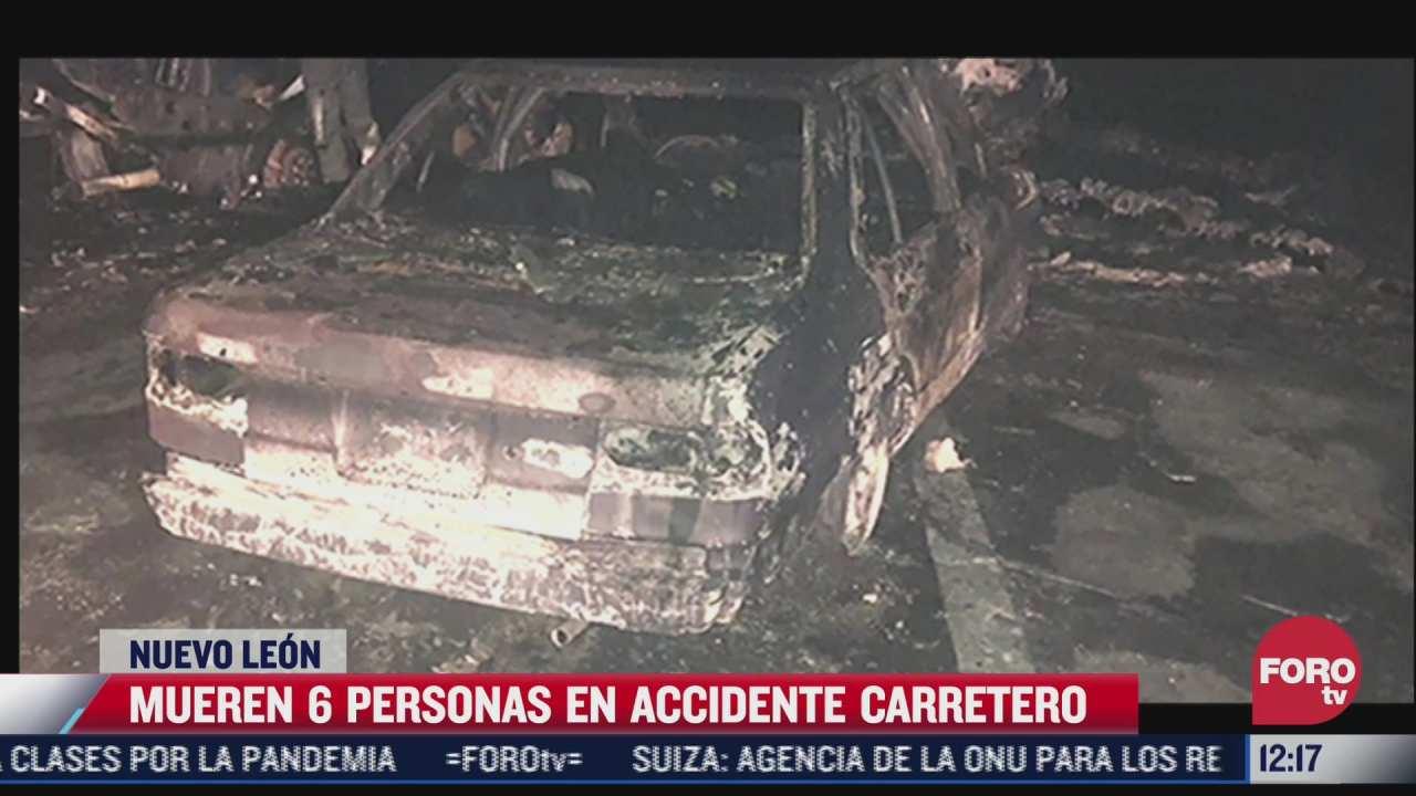 vaca provoca accidente carretero en la autopista a reynosa hay seis muertos