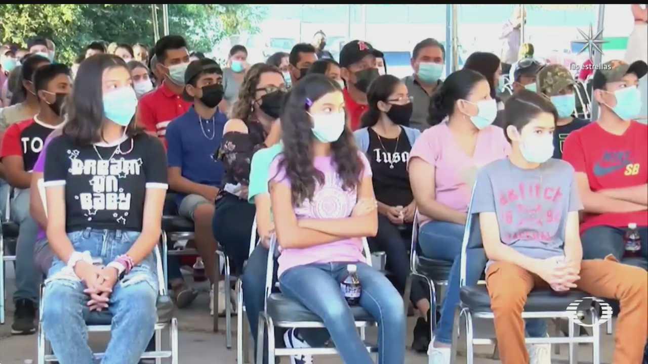 vacunan en coahuila a menores de edad hijos de trabajadores de maquiladoras