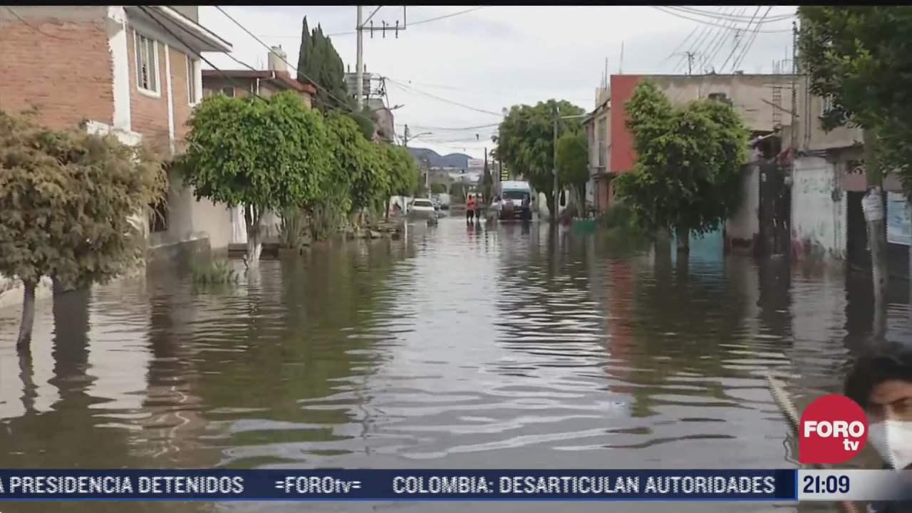 valle de chalco continua sufriendo por danos tras inundaciones