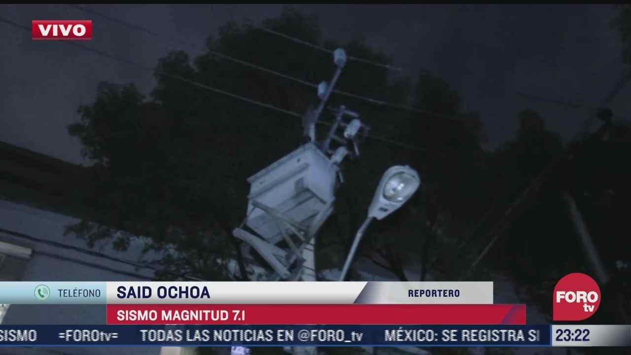 varias colonias de la cdmx continuan sin suministro electrico tras sismo en acapulco
