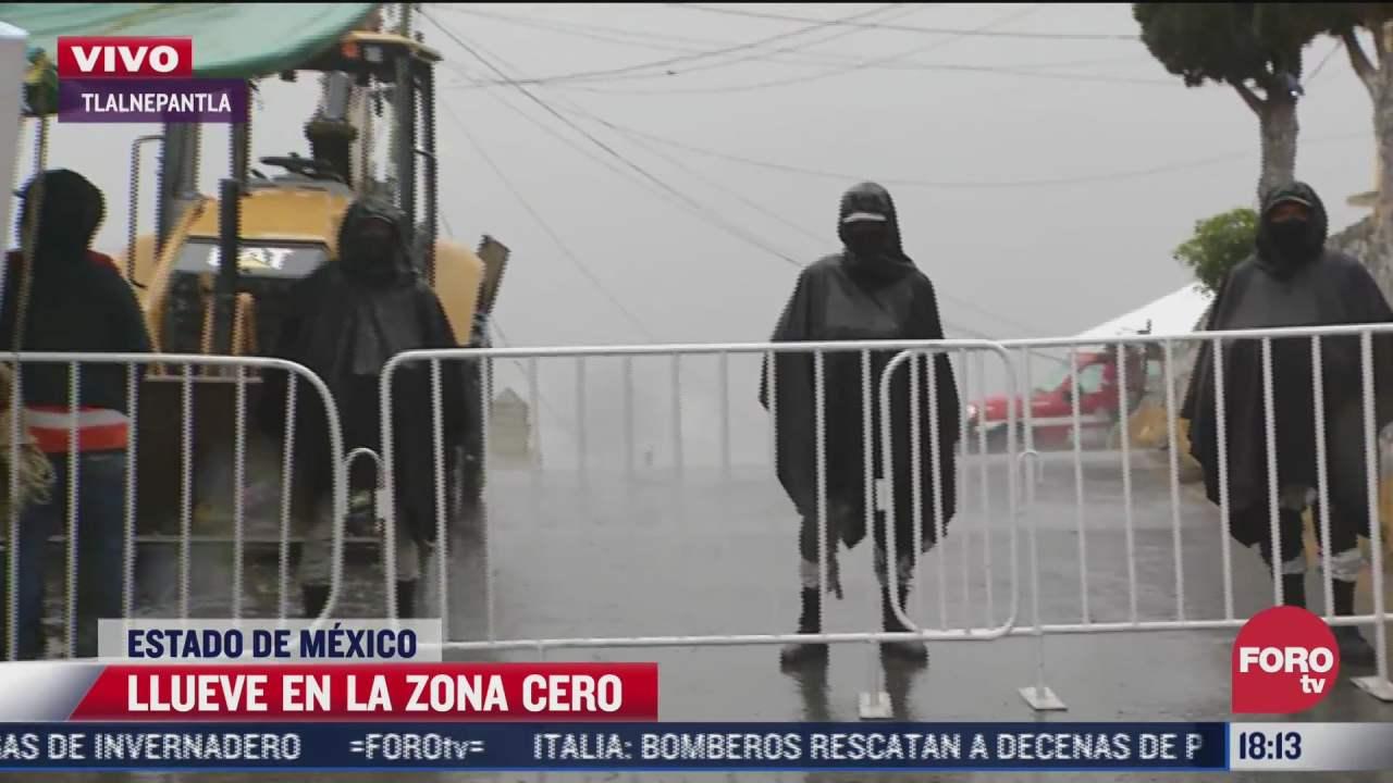 vecinos del chiquihuite temen caida de piedras por fuertes lluvias