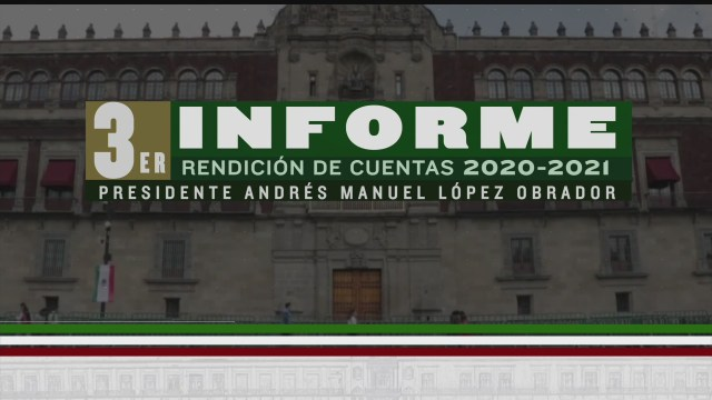 video completo del tercer informe de gobierno de amlo