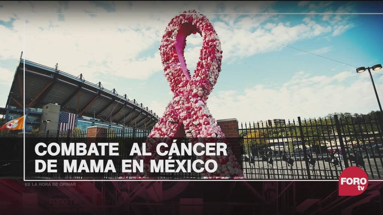 1 de cada 7 mujeres va a desarrollar cancer de mama en mexico