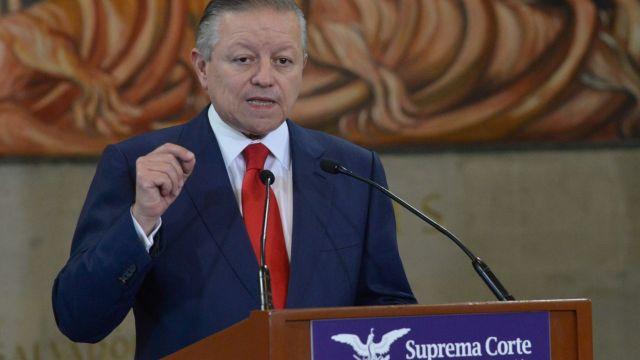 Arturo Zaldívar, ministro presidente de la Suprema Corte de Justicia de la Nación (Cuartoscuro, archivo)