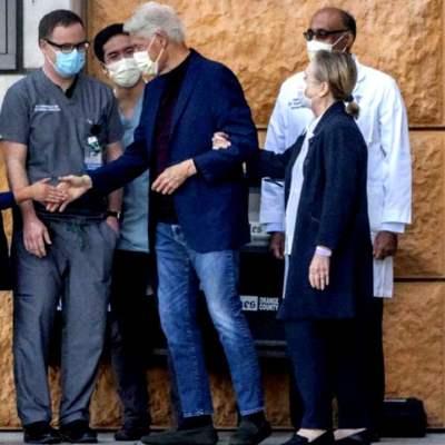 Bill Clinton regresa a su hogar en Nueva York tras hospitalización