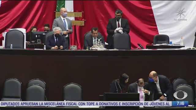 camara de diputados aprueba en lo general la miscelanea fiscal