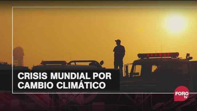 como se encuentra el mundo en materia de cambio climatico