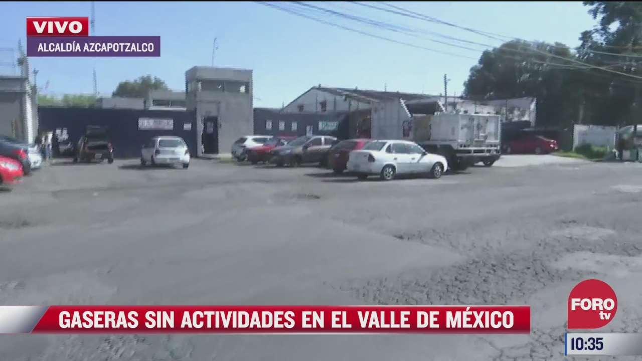 continua paro de gaseros en la ciudad de mexico y estado de mexico