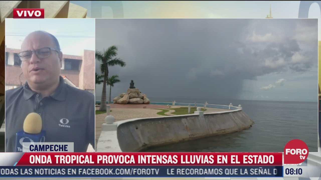 continuaran lluvias intensas en mexico por baja presion asociada con onda tropical