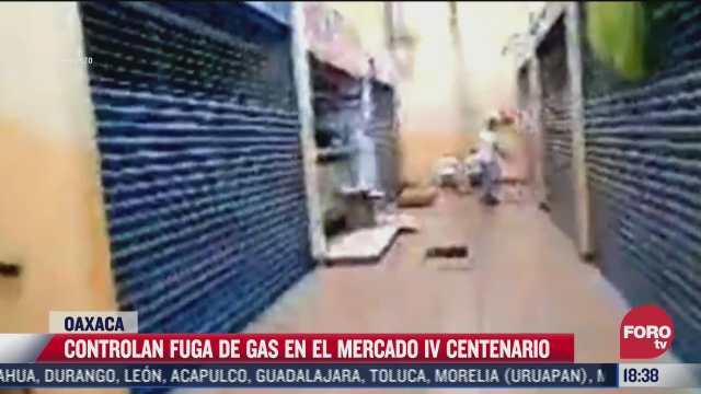 desalojan mercado por fuga de gas en oaxaca