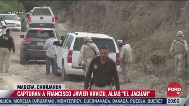 detienen a el jaguar lider criminal de chihuahua implicado en el caso lebaron