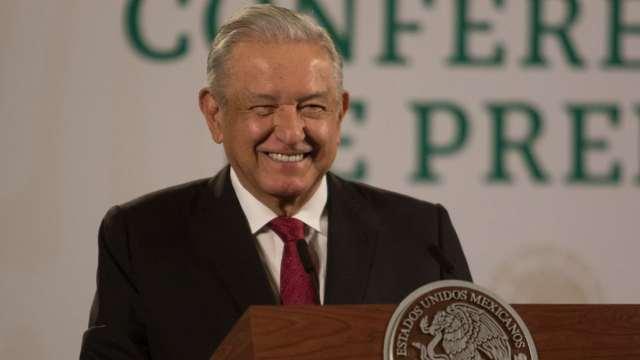 El presidente Andrés Manuel López Obrador en conferencia de prensa matutina