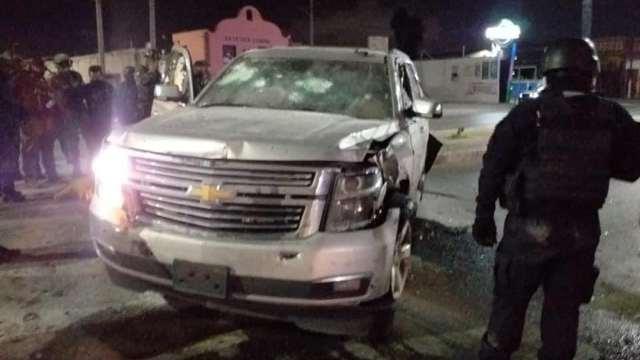 Enfrentamiento entre hombres armados contra personal militar y la Policía Estatal en la ciudad de Matamoros.