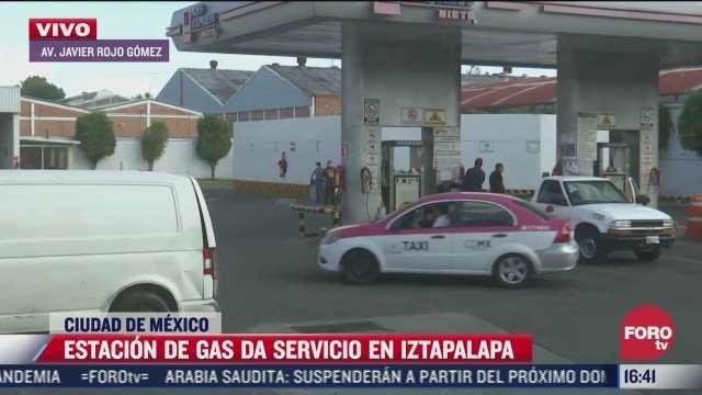 estacion de gas da servicio en iztapalapa