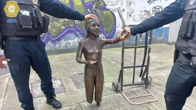 """Estatua """"Molino para la Paz"""" (Secretaría de Seguridad Ciudadana CDMX)"""
