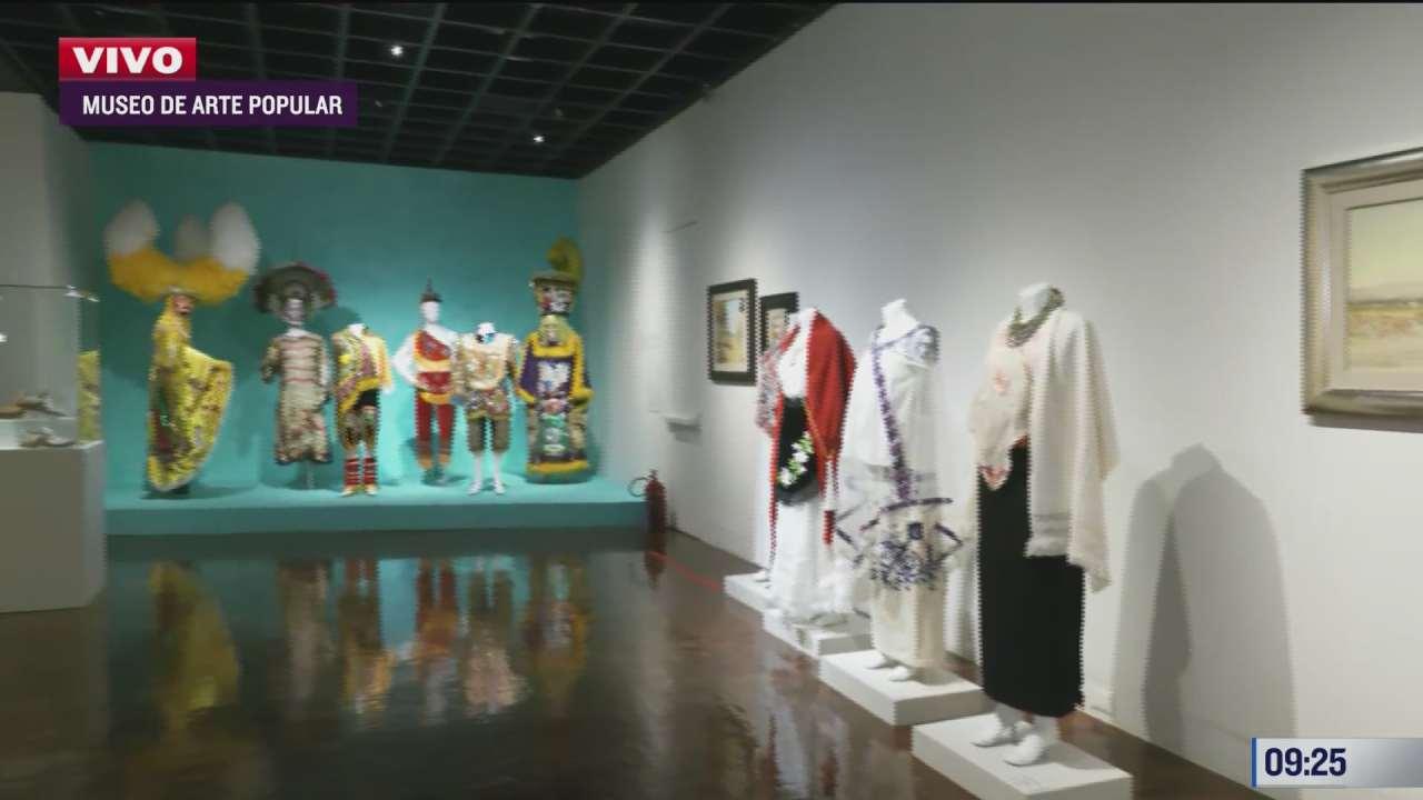 exposicion mexico textil en el museo de arte popular