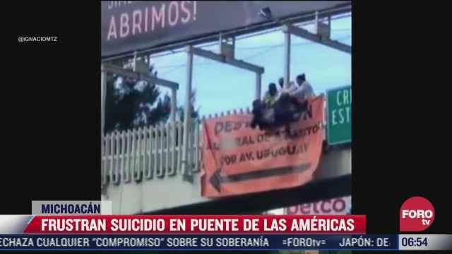 frustran suicidio de un joven en michoacan