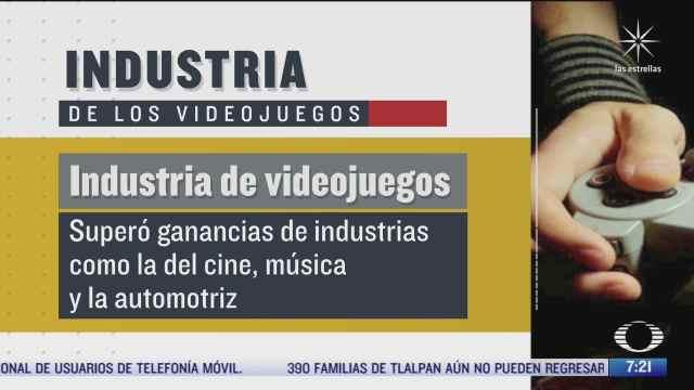 ganancias de la industria de los videojuegos triplican las del cine