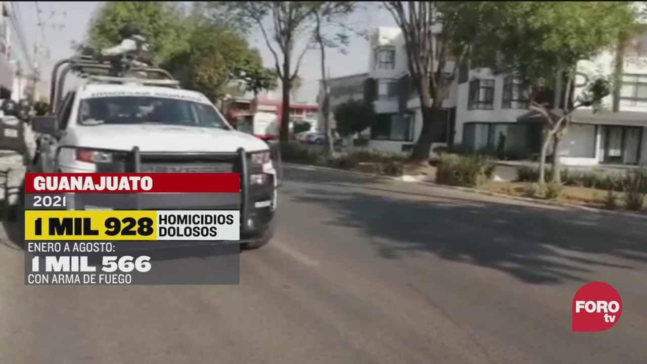 incrementan los homicidios con armas de fuego en mexico