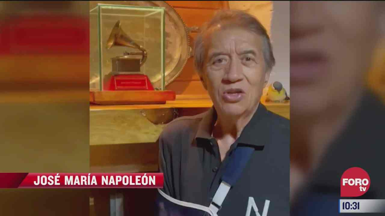 jose maria napoleon reaparece tras cirugia de hombro