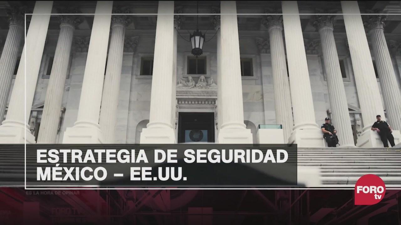 la nueva politica de seguridad acordada entre mexico y estados unidos