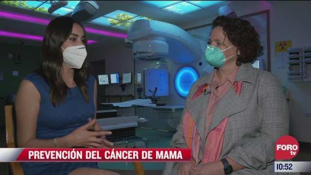 la prevencion del cancer de mama