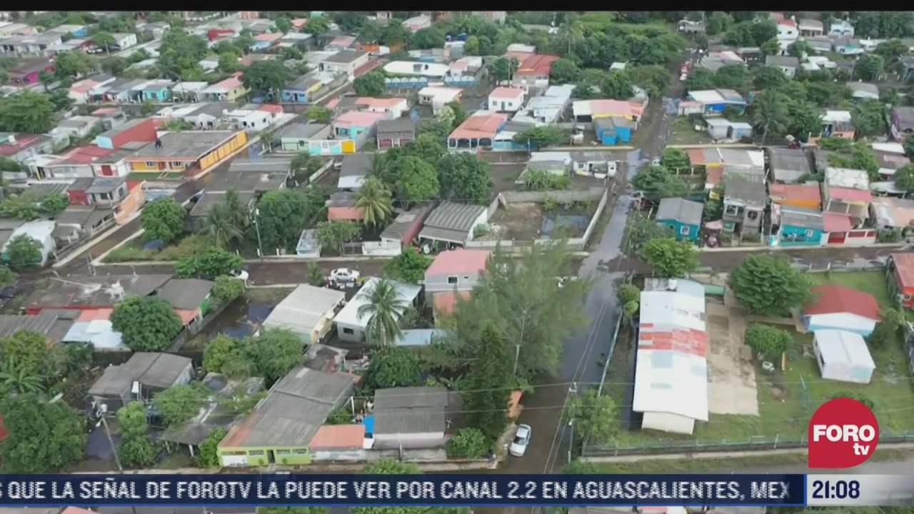 lluvias dejaron danos en 7 mil viviendas en veracruz