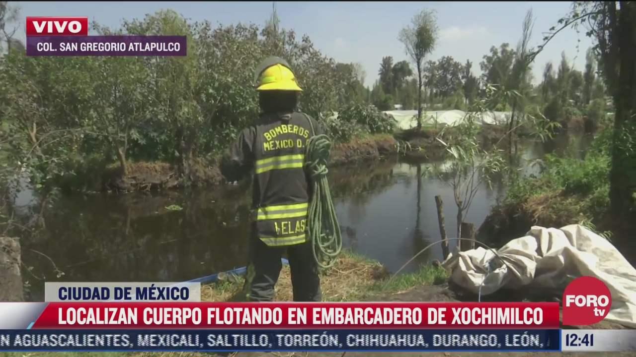 localizan cuerpo en paraje de xochimilco