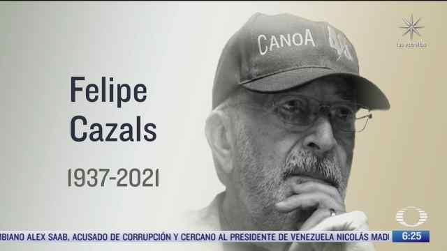 muere el director de cine mexicano felipe cazals a los 84 anos