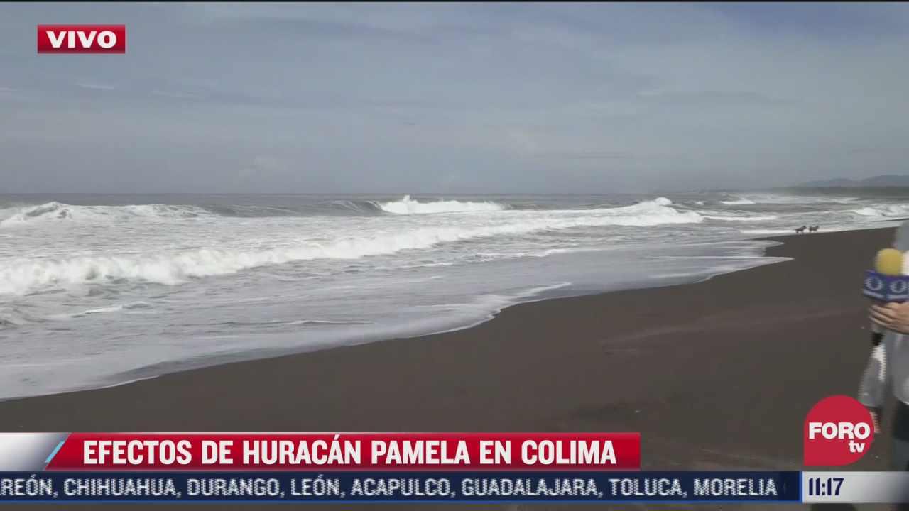 nueve estados en alerta por huracan pamela