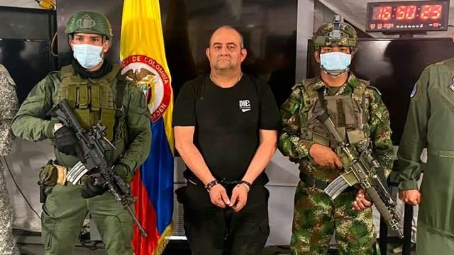 Cae 'Otoniel' jefe del Clan del Golfo y el narco más buscado de Colombia