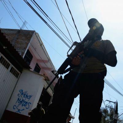 Policías comunitarios de comunidades en Guerrero (Cuartoscuro)