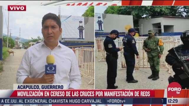 reos de acapulco protestan por prohibiciones alimentarias