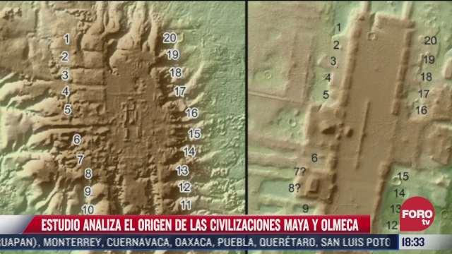 revelan detalles del origen de las civilizaciones maya y olmeca