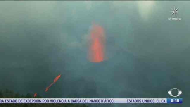 se cumple un mes de la actividad del volcan cumbre vieja