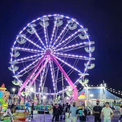 Se desploma juego mecánico en la Expo Feria de Guadalupe, reportan varios lesionados