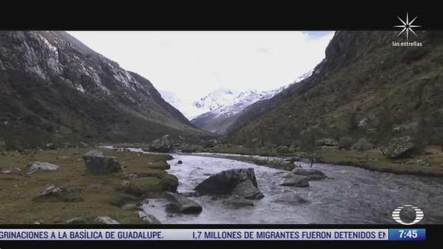 serie especial de despierta sobre cambio climatico los glaciares de peru en riesgo