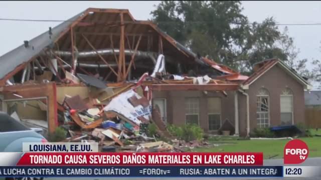 tornado devasto lake charles en louisiana
