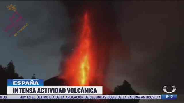volcan cumbre vieja el mas severos de los ultimos 100 anos
