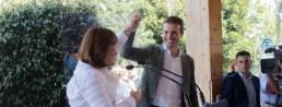 pablo casado i ana pastor visiten valencia