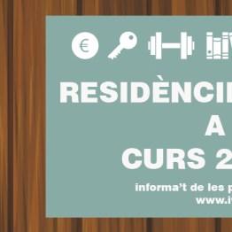 ivaj places residencies per a joves