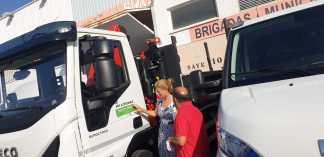 12-07-2019 Castelló estalvia un 25% en emissions de CO2 amb la incorporació a la seua flota de tres vehicles a gas