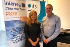 08-10-19 Amparo Marco en Bruselas junto al director ISTO