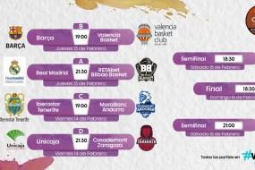 valencia basket semifinals copa del rey