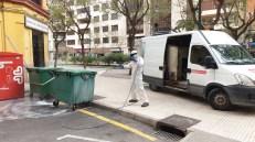 250320 Castelló desinfecció contenidors recollida residus